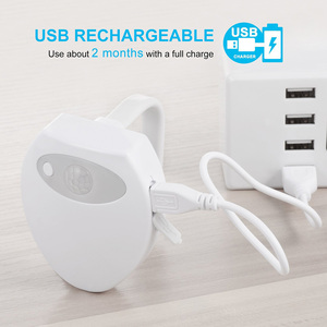 "Image 1 - USB Rechargerable תנועה חיישן אסלת אור בב""ש מנורת USB תאורה אחורית עבור אסלת 8 אור צבעים שרותים מושב אור חיישן"