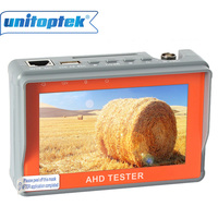 New CCTV 1080P 720P AHD Camera Tester 4.3 inch LCD Analog Video Test 12V/5V Power Output Cable AHD CCTV Tester