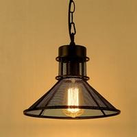 Luz pingente de metal loft anti que celeiro o guarda chuva grade luminária iluminação industrial americano do vintage|pendant lights|metal pendant light|industrial lighting -