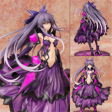 2019 Anime Date A Live Tohka Yatogami Princess Reverse Ver. PVC Action Figure Model Doll Toys figura 9 inch date a live nightmare tokisaki kurumi two gun ver boxed 23cm pvc anime action figure collection model doll toys gift
