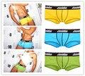 2016 Venda Quente Dos Homens Underwear Masculino Cueca Boxer homens Bermudas Masculina De Marca Boxer Shorts Underwear Sexy Homens Ondergoed