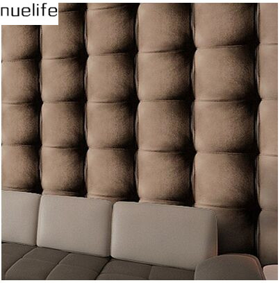 ФОТО 0.53x10m Modern no real Leather Leather 3D Effect Wallpaper Living Room Bedroom TV Background Wallpaper