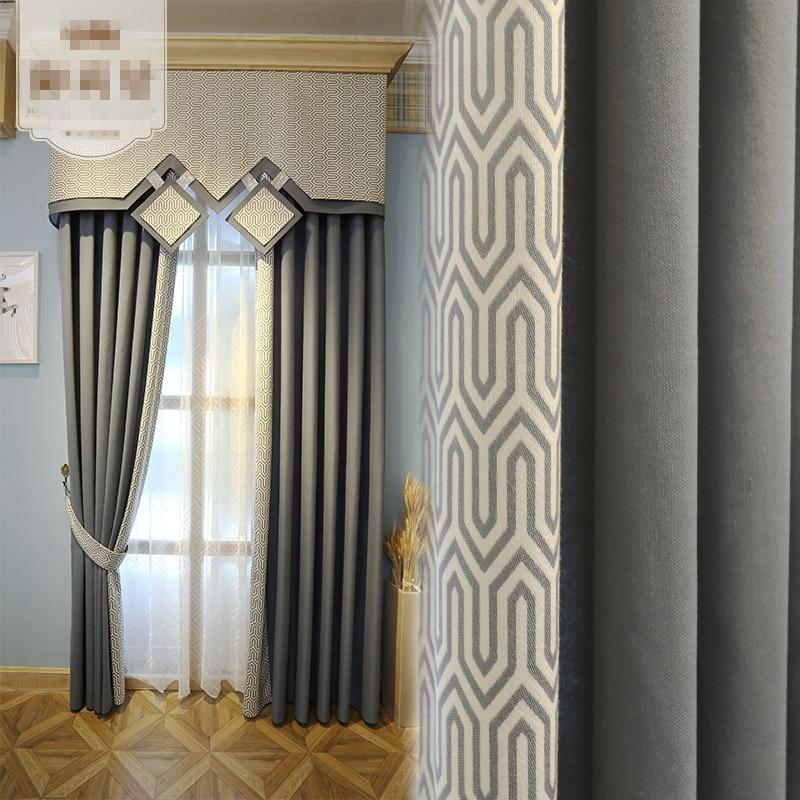 ventanas de los dormitorios cortina de gasa cortina de encargo simple moderna de alta calidad cortinas