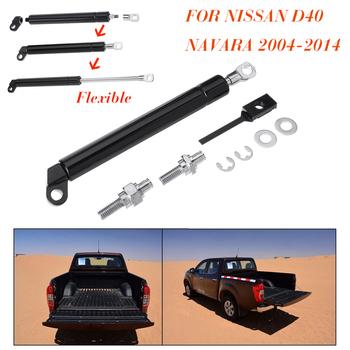 Dla Nissan D40 Navara 2004-2014 tylnej klapy tylnej klapy zwolnić bagażnika gazu amortyzator wsporniki podnośników tanie i dobre opinie Autoleader 20cm 265g Aluminium Rear