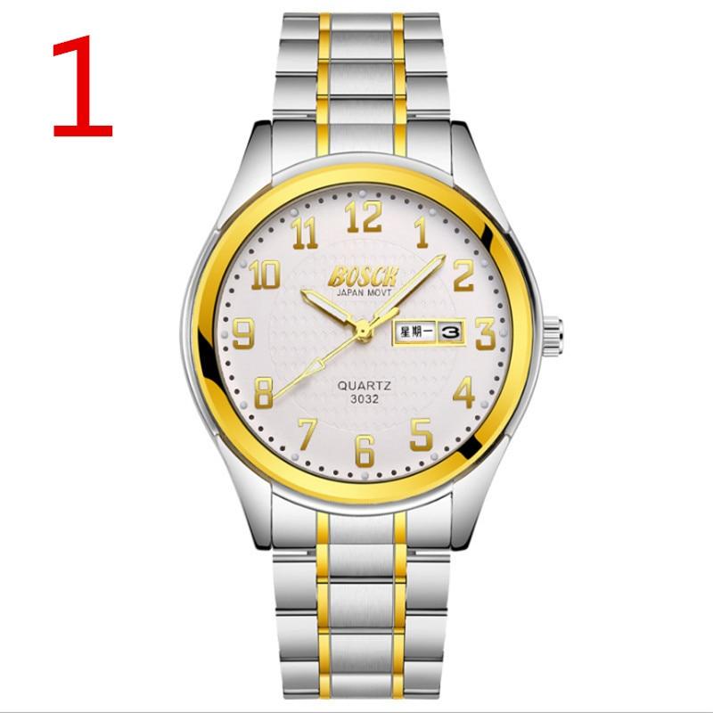 The elegant and luxurious men's business quartz watch shows a mature women's charm. 2019