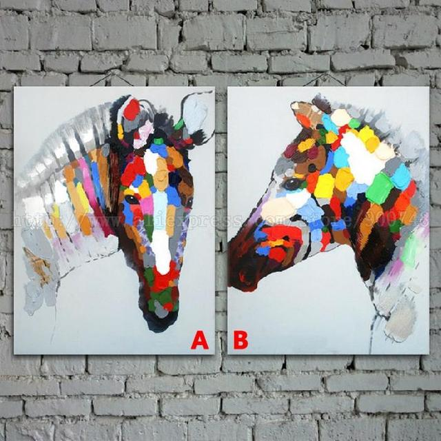 Aliexpress.com : Buy Restaurant background animal Oil Painting ...