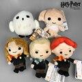 """Nueva Lindo Muñecos de Peluche de Juguete Q Versión de Harry Potter Malfoy Hermione Dobby Búho Hedwig Colgantes de la Felpa Embroma el Regalo de Cumpleaños de 5 """"13 CM"""