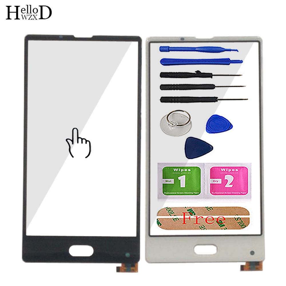 Touch-Screen Bluboo S1 Digitizer-Panel Sensor-Parts Front-Glass For Lens Adhesive Mobile