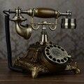 Мода поворот античный деревенский старинный телефон домашний офис телефон