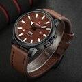 NAVIFORCE Fecha de Hombre Relojes de Cuarzo Luminoso Analógico Reloj Hombre Militar Del Ejército Reloj de Pulsera Marca de Lujo de Los Hombres Del Deporte Relojes de Pulsera 2016