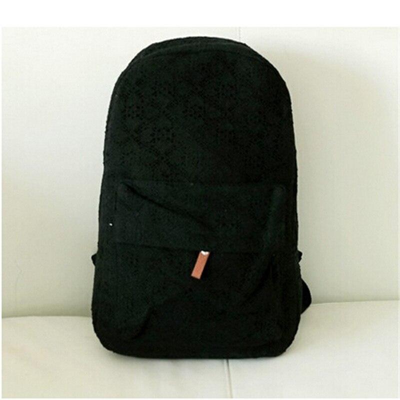 ФОТО fashion lace women backpacks rucksack canvas backpack preppy school bags for teenager girls casual travel bag mochila feminina