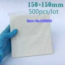 """Белая бумага для взвешивания влагостойкая сильная 150 мм x 150 мм 6x"""" лакмусовая бумага для аналитического баланса 500 шт/ПК"""