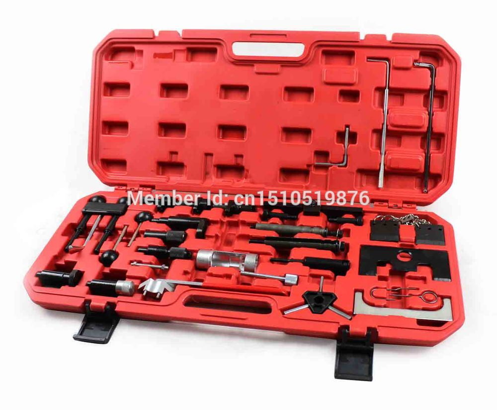 PORFESSIONAL CAR ENGINE TIMING TOOL KIT FOR VW & AUDI A4 A6 A8 AT2055 engine fuel injector nozzle for 01 06 vw audi a4 a6 passat 0280156070
