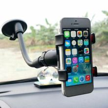 360°Rotating Universal Car Windshield Suction Cup Type Mobile Phone Holder Adjustable Angle For Car цена