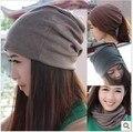 Mulheres chapéus beanie chapéu de Tricô Chapéu de Lã para As Mulheres Caps Lady Beanie Malha Caps 5 cores Frete Grátis