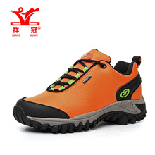 Size 36-39 Waterproof women shoes Outdoor sneakers Oxford sports Hiking shoes,2016 climbing Orange famous Original brand trainer