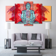 HD Printed Buddha Creative Painting Canvas Print Room Decor Print Poster Picture Canvas Free Shipping Household Products