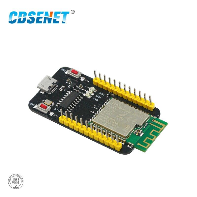 Placa de Teste E73-TBB nRF52832 2.4 GHz Módulo Transceptor Sem Fio rf 2.4 ghz Módulo Ble 5.0 transmissor Receptor Bluetooth