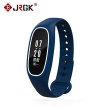 JRGK DB01 Артериального Давления Умный Браслет IP68 Водонепроницаемый Шагомер Монитор Сердечного ритма Вызова Напоминание Bluetooth SmartBand Wirstband