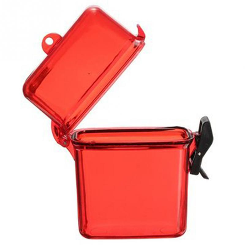 Portable Phone Storage Box Case Holder Outdoor Waterproof Camping Key Money  Plastic Container Case(China