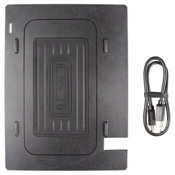 รถ Qi ไร้สายชาร์จ Pad สำหรับ Camry 2018-2019 Fast Charging Case แผ่นคอนโซลกลางกล่องเก็บอุปกรณ์เสริม