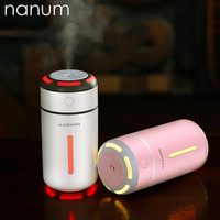 Car air freshener Colorful light humidifier USB Mini Ultrasonic Essential Oil Diffuser LED Night Light Air Purifier Mist Maker