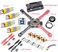 Bastidor F450 Quadcopter Frame Kit + APM2.8 controller board + 6 M/7 M/M8N GPS + 2212 1000KV + 30A ESC 1045 hélice para S500