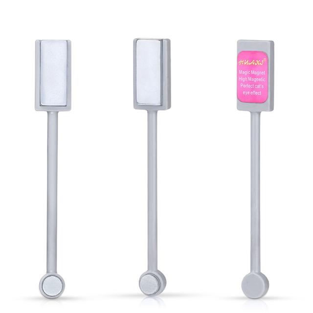 Elite99 Doppel-end Cat Eye Magnet 3D Linie Streifen Wirkung Magische Magnet Stick Nail art Werkzeug Für Katze eye Gel Lack Nagellack