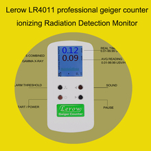 professional Nuclear Radiation Detection Monitor geiger counter detecting  ionizing radiation  Beta Gamma X-Ray