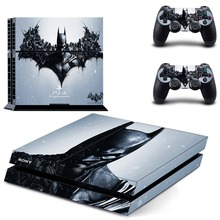 Batman Decal Skin PS4 Cover for Playstaion 4 Console PS4 Skin Stickers+ 2 Controller Protective Skins