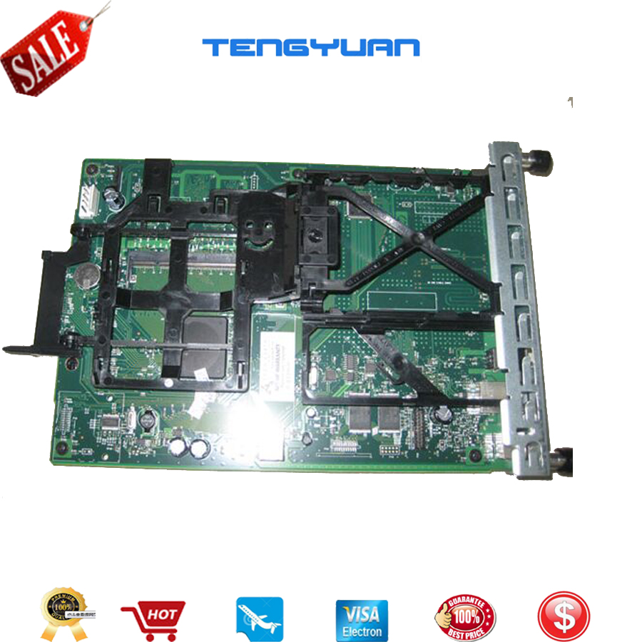 Free shipping Original Formatter board for HP Color LaserJet CM3530 3530MFP 3530 CC452-60001 CC519-67921 printer part on sale free shipping original cf104 60001 formatter board fit with fan for hp laserjet 500 m525 spare part printer part mother board