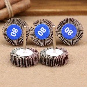 Image 2 - Dremel Accesorios de papel de lija, ruedas de pulido, juego de discos de lijado, rueda de pulido de obturador para herramientas de potencia rotativa, 5 uds.