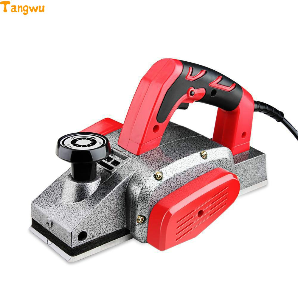 Free shipping household tools electric plane thicknesser multifunctional portable electric font b woodworking b font Electric