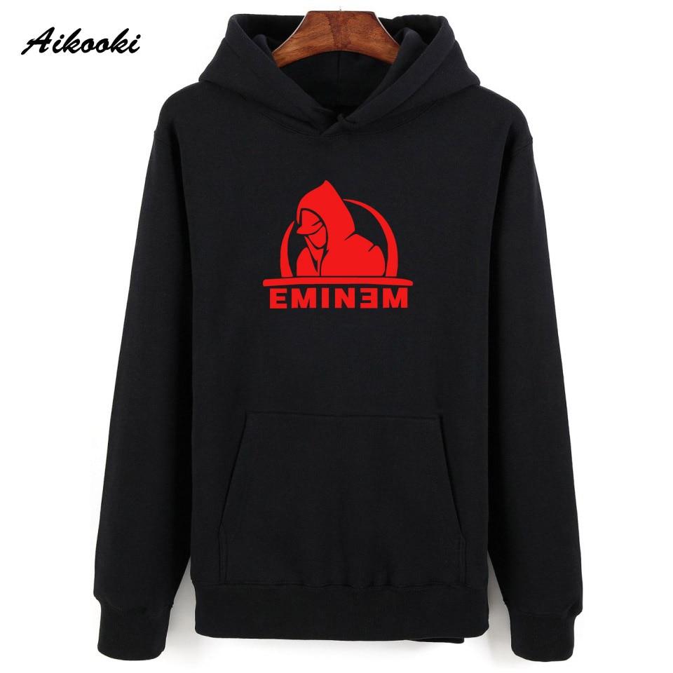 Detalle Comentarios Preguntas sobre Eminem sudadera Hoodies hombres 2018  Aikooki impresión Casual sudaderas Eminem sudadera mujeres hombres invierno  Hoodied ... 6032428bda3