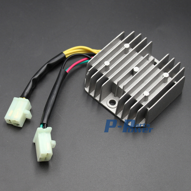 voltage regulator rectifier for honda spacy ch125 ch150 elite 6 wires  3-phase 12v new