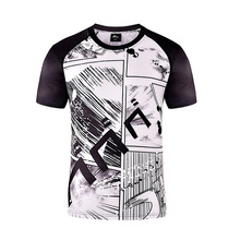 ZOGAA New Mens Fashion Printing Quick Drying Breathable Short Sleeve T-shirt