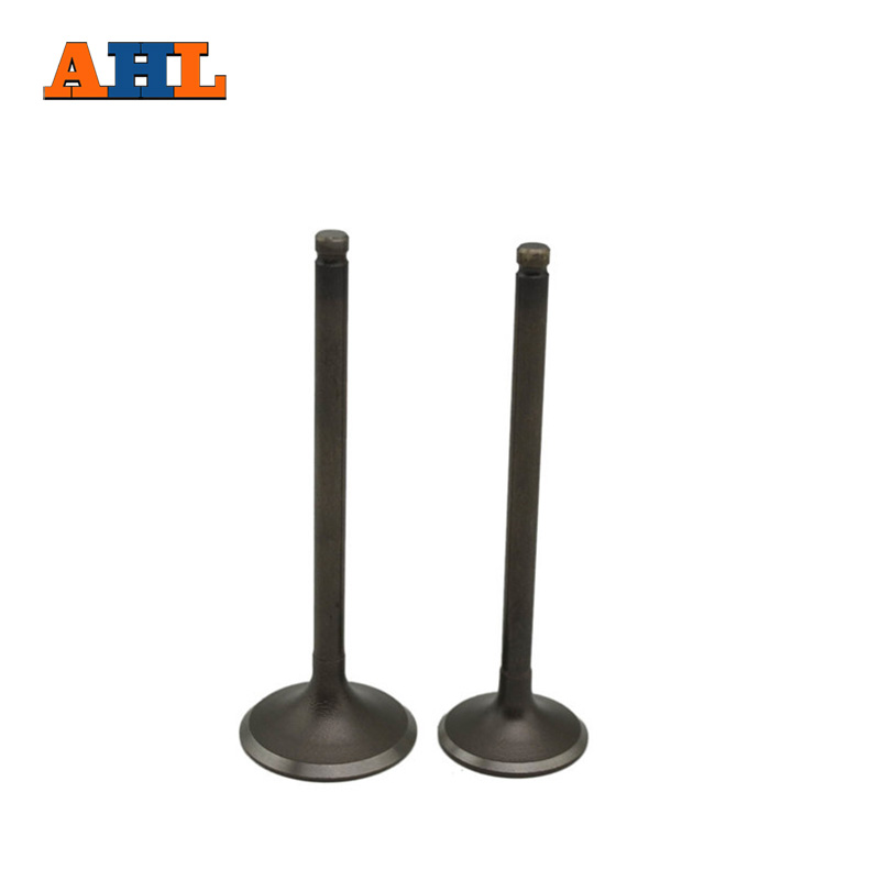 AHL Motorcycle Engine Parts 2pcs Exhaust Valve Stem for HONDA CRF250 R 2004-2009 / CRF250 X L 2004-2013 ( 2*exhaust ) cyt alloy steel motorcycle engine valve for honda cg200 dark grey pair