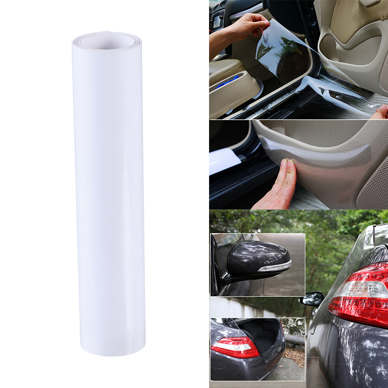 US $3 89 45% OFF|1pc Car Adhesive Film Cover Anti Scratch Film Car Body  Protector Film Auto Door Mirror Fog Light Sticker Car Styling Accessories  on