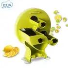 New Fruit Slicer 0.8 8MM Thickness Adjustable Manual Vegetable Fruit Cutter with 3 intlet Lemon Slicer Kitchen Accessories