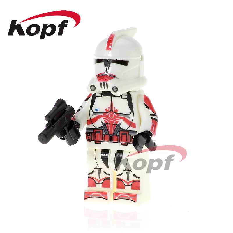 Single Sale Star Wars Clone Trooper Imperial Army Military Stormtrooper Building Blocks Collection Toys Children Gift PG775