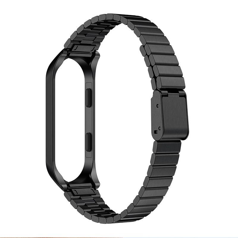 High Quality Replacement Watch Strap For Xiaomi Mi Band 3 Stainless Steel Wrist Wristband