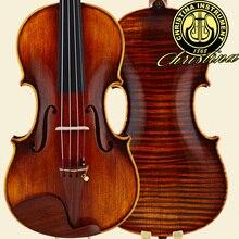 Free shipping Violin Christina Italy V08-new professional violino 4/4 high quality Spruce master Violin Case musical instruments
