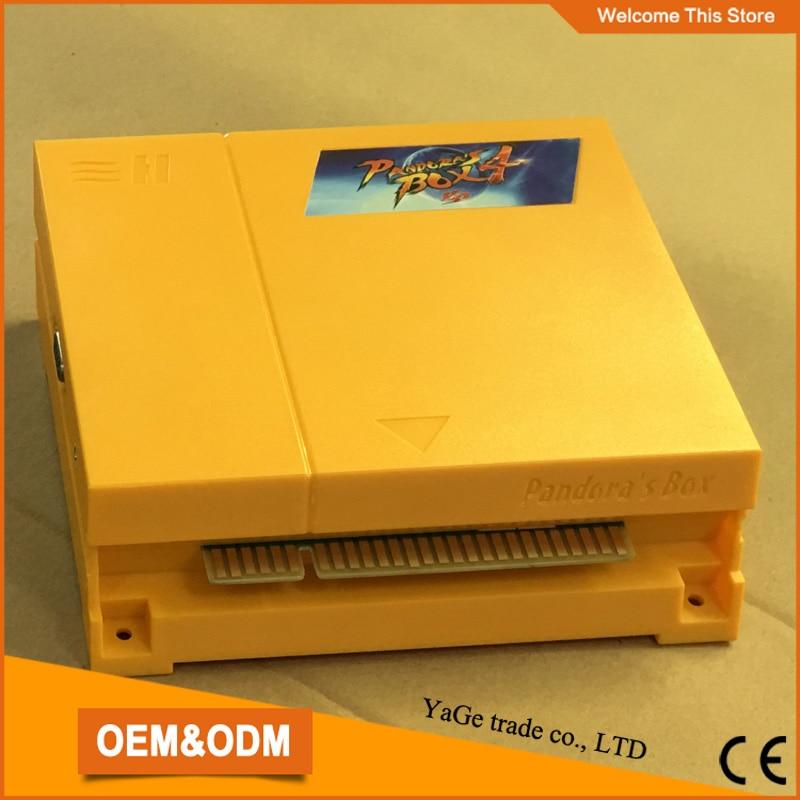 Pandora Box 4 645 in 1 jamma Multi game board support CRT/ LCD for bartop upright arcade