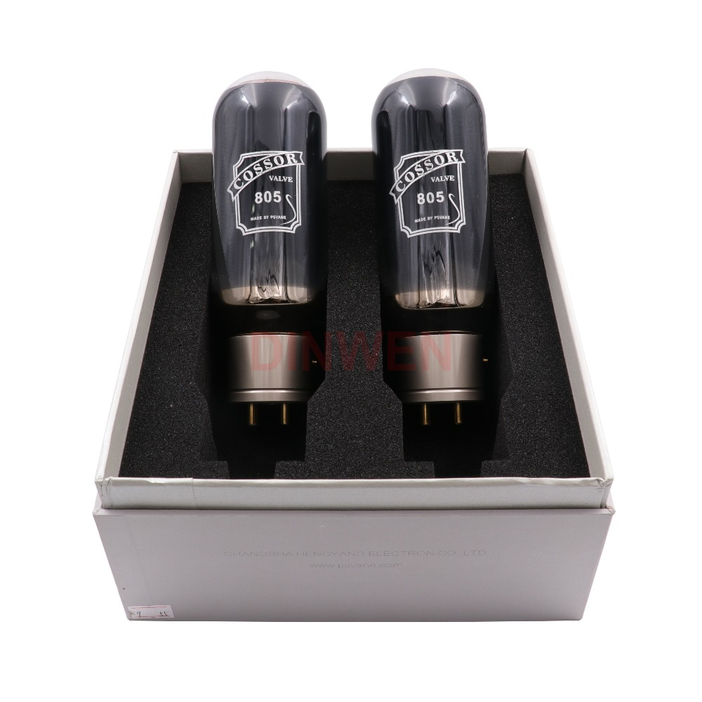 PSVANE COSSOR 805 Vacuum Tubes Vintage Hifi Audio Tube AMP DIY Upgrade Black Bulb Factory Test