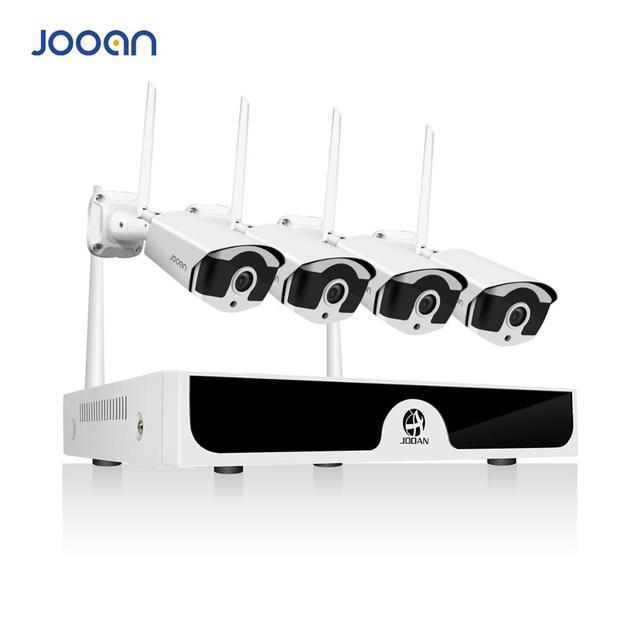 אלחוטי אבטחת מצלמה מערכת 4CH CCTV NVR סט 1080 P WiFi מצלמות ערכת חיצוני מעקב וידאו beveiligings מצלמה systeem