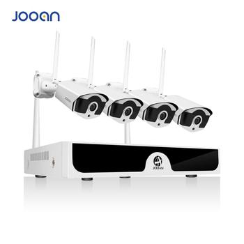 Kablosuz Güvenlik Kamera Sistemi 4CH CCTV NVR Seti 1080 P WiFi Kameralar kiti Açık Video Gözetim beveiligings kamera systeem