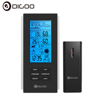 Digoo DG TH6699 Smart Home Wireless Weather Station Barometer Forecast Thermometer USB Outdoor Sensor Clock
