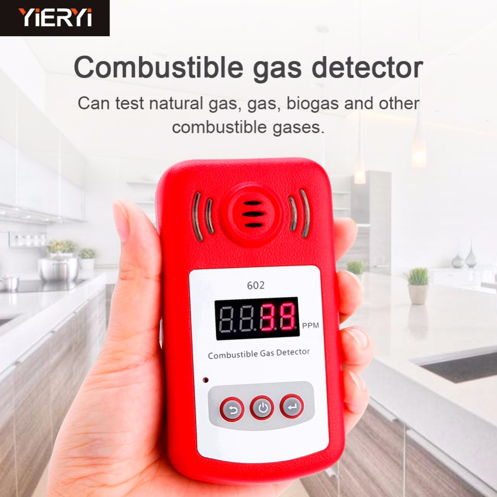 New Come Portable Mini Combustible Gas Detector Analyzer Gas Leak Tester With Sound And Light Alarm Gas Leak Detector Gsm Alarm 2016 new handheld formaldehyde gas detector sound alarm gas analyzer