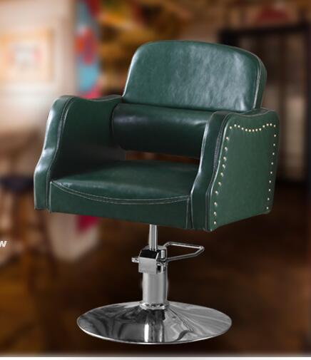 Barber chair stereotypes cotton retro haircut chair hairdresser chair lift 3032 the silver chair