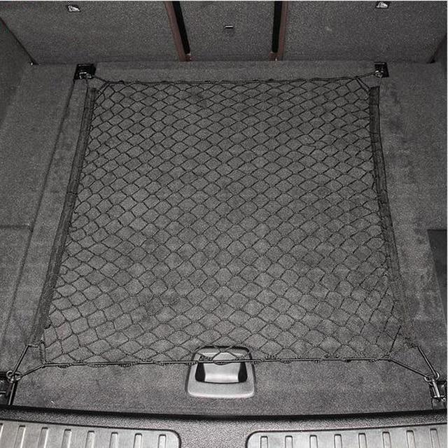4 ganchos Bagagem Mala Do Carro de Carga Elástica Net Para BMW 3 7 Série GT X1 116/118 120 Audi Q2 Q3 q5 CLK Benz CLA